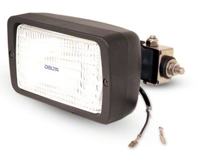 Delta 6x3.5 in. 280H Series Rectangular Side Mount Work Light