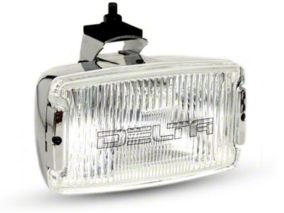 Delta 850H Series Chrome Rectangular Fog Light
