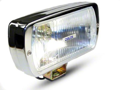 Delta 8x4 in. 220 Series Chrome Xenon Driving Light
