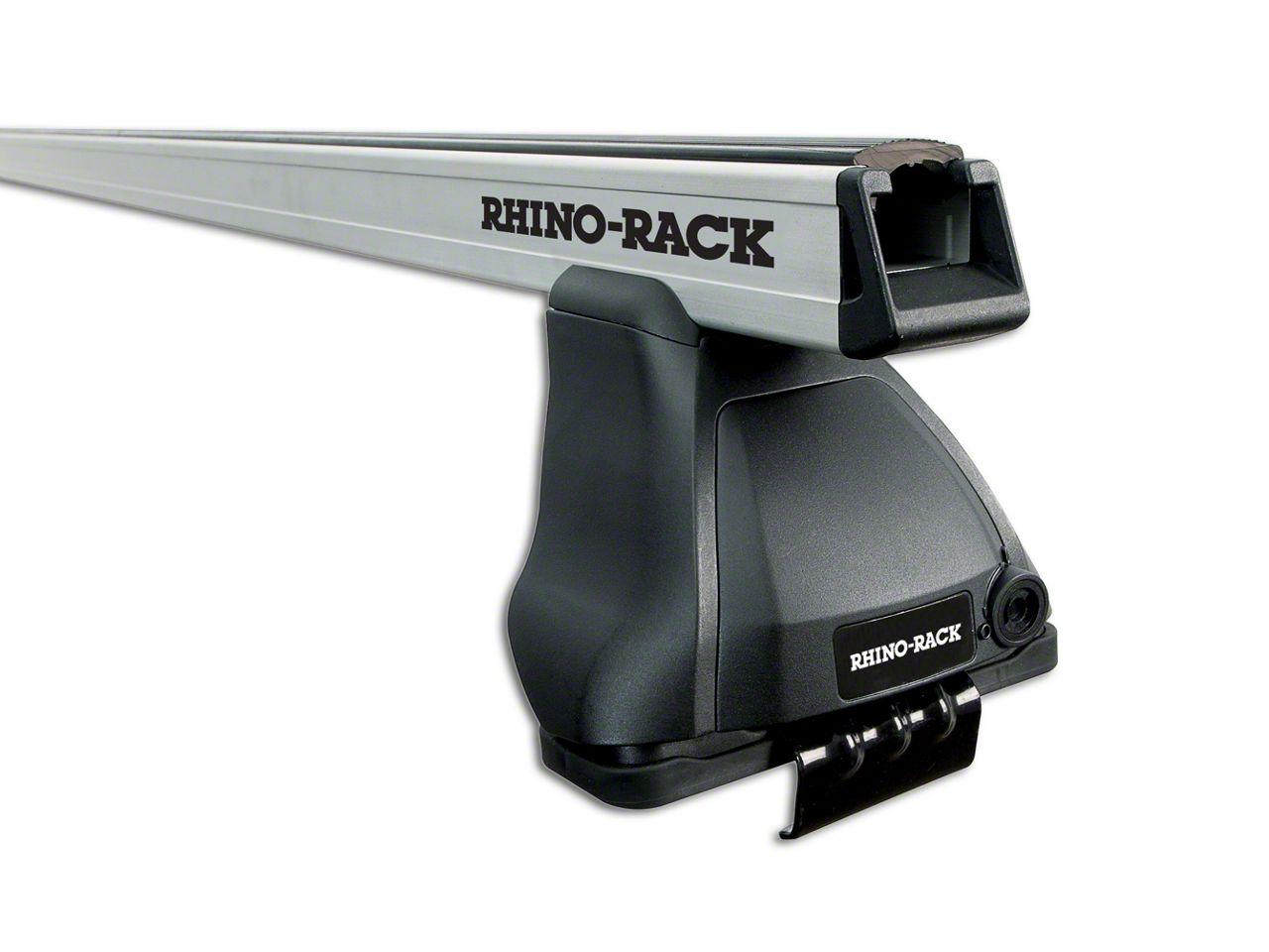 Rhino-Rack Heavy Duty 2500 2-Bar Roof Rack - Silver (09-18 RAM 1500 Quad Cab, Crew Cab)