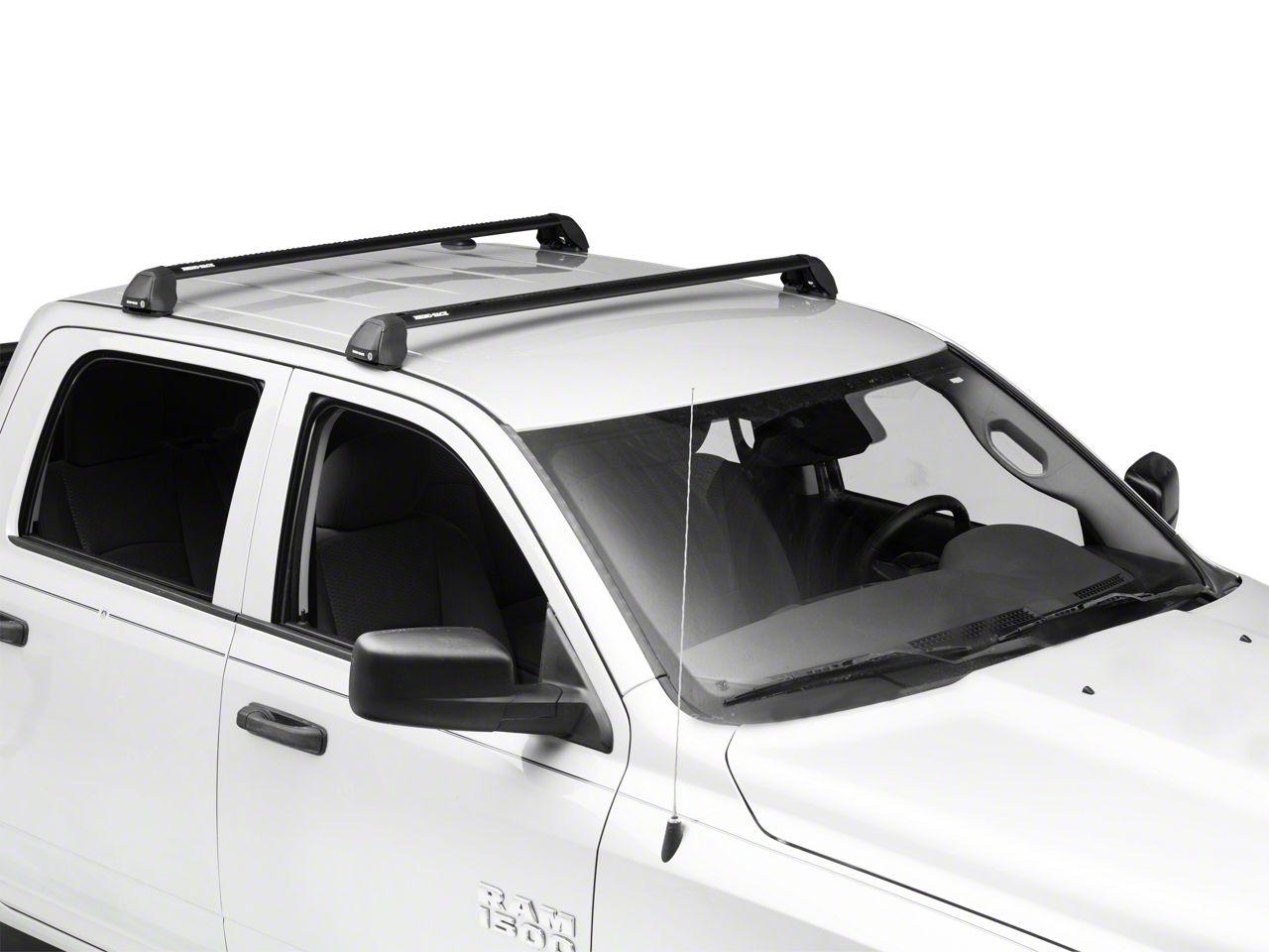 Rhino-Rack Vortex 2500 RS 2-Bar Roof Rack - Black (09-18 RAM 1500 Quad Cab, Crew Cab)