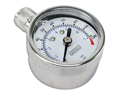 Viair 1.5 in. Tire Gauge - 0-35 PSI