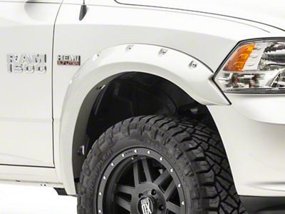 Bushwacker Pocket Style Fender Flares - Pre-Painted (10-18 RAM 1500, Excluding R/T)