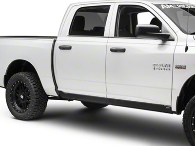 Bushwacker Trail Armor Rocker Panels - Matte Black (09-18 RAM 1500 Crew Cab)