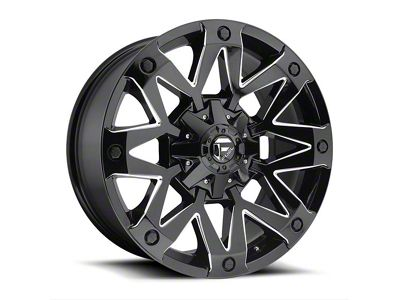 Fuel Wheels Ambush Gloss Black Milled 5-Lug Wheel - 20x9 (02-18 RAM 1500, Excluding Mega Cab)