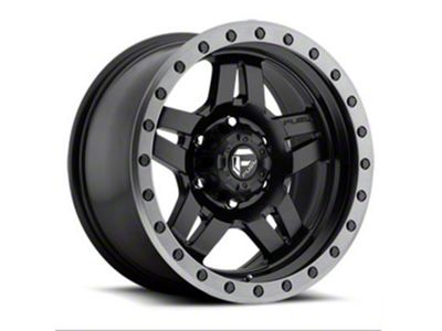 Fuel Wheels Anza Matte Black 5-Lug Wheel - 18x9 (02-18 RAM 1500, Excluding Mega Cab)