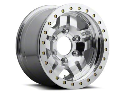 Fuel Wheels Anza Bead Lock Raw Machined 5-Lug Wheel - 17x9 (02-18 RAM 1500, Excluding Mega Cab)