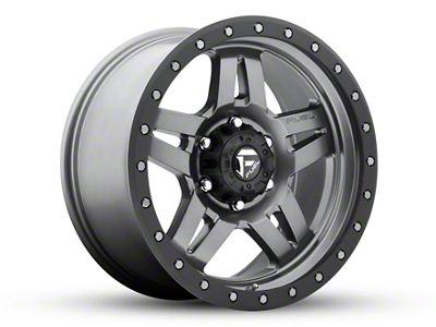 Fuel Wheels Anza Gun Metal 5-Lug Wheel - 18x9 (02-18 RAM 1500, Excluding Mega Cab)
