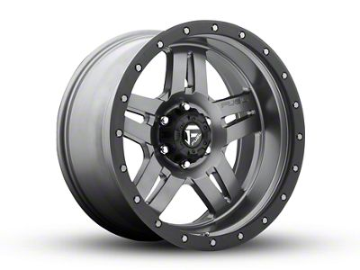 Fuel Wheels Anza Gun Metal 5-Lug Wheel - 20x10 (02-18 RAM 1500, Excluding Mega Cab)