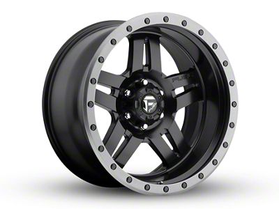 Fuel Wheels Anza Matte Black 5-Lug Wheel - 20x10 (02-18 RAM 1500, Excluding Mega Cab)