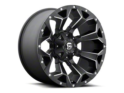 Fuel Wheels Assault Matte Black Milled 5-Lug Wheel - 24x11 (02-18 RAM 1500, Excluding Mega Cab)