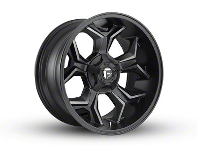 Fuel Wheels Avenger Black Machined w/ Dark Tint 5-Lug Wheel - 20x10 (02-18 RAM 1500, Excluding Mega Cab)