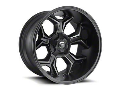 Fuel Wheels Avenger Black Machined w/ Dark Tint 5-Lug Wheel - 20x12 (02-18 RAM 1500, Excluding Mega Cab)