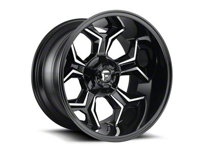 Fuel Wheels Avenger Gloss Black Machined 5-Lug Wheel - 20x12 (02-18 RAM 1500, Excluding Mega Cab)