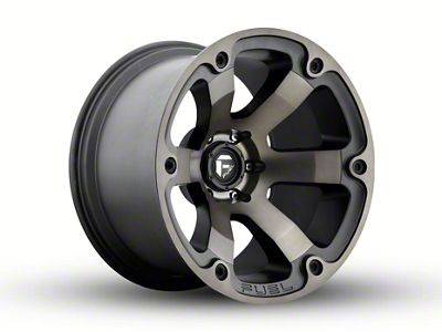 Fuel Wheels Beast Black Machined 5-Lug Wheel - 20x12 (02-18 RAM 1500, Excluding Mega Cab)
