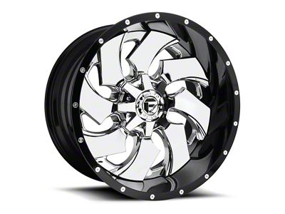 Fuel Wheels Cleaver 2-Piece Chrome 5-Lug Wheel - 20x12 (02-18 RAM 1500, Excluding Mega Cab)