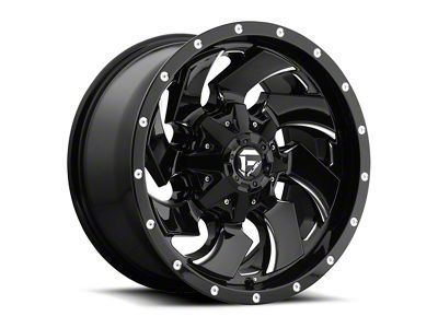 Fuel Wheels Cleaver Black Milled 5-Lug Wheel - 20x12 (02-18 RAM 1500, Excluding Mega Cab)