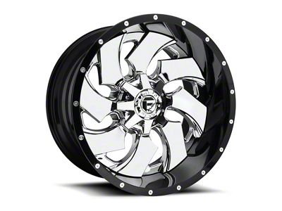 Fuel Wheels Cleaver Chrome 5-Lug Wheel - 22x14 (02-18 RAM 1500, Excluding Mega Cab)