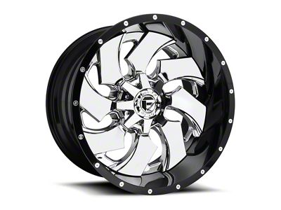 Fuel Wheels Cleaver Chrome 5-Lug Wheel - 24x14 (02-18 RAM 1500, Excluding Mega Cab)