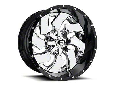 Fuel Wheels Cleaver Chrome 5-Lug Wheel - 24x16 (02-18 RAM 1500, Excluding Mega Cab)