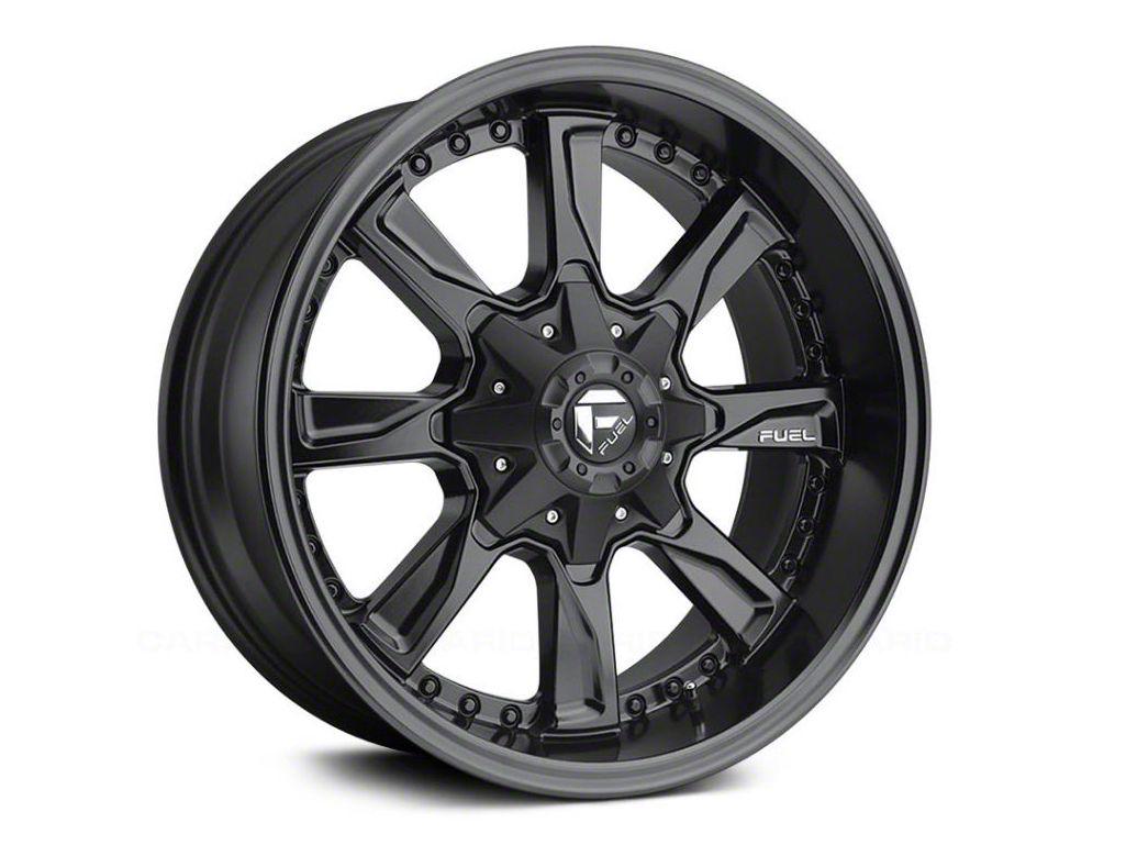 Fuel Wheels Hydro Matte Black 5-Lug Wheel - 17x8.5 (02-18 RAM 1500, Excluding Mega Cab)