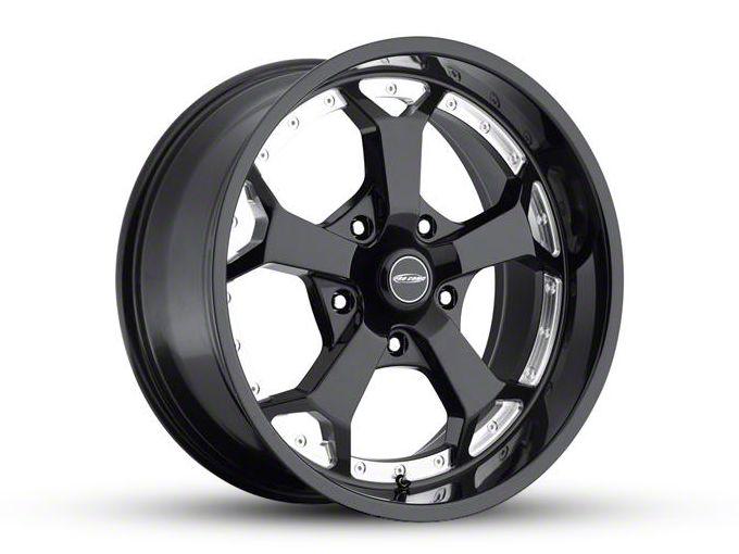 Pro Comp Adrenaline Gloss Black Milled 5-Lug Wheel - 20x9 (02-18 RAM 1500, Excluding Mega Cab)