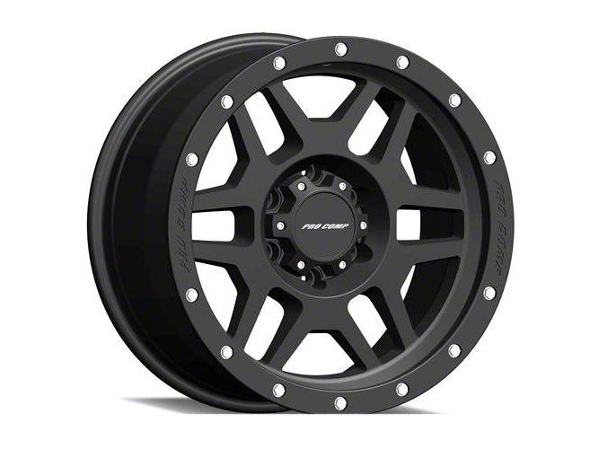 Pro Comp Phaser Satin Black 5-Lug Wheel - 20x9 (02-18 RAM 1500, Excluding Mega Cab)