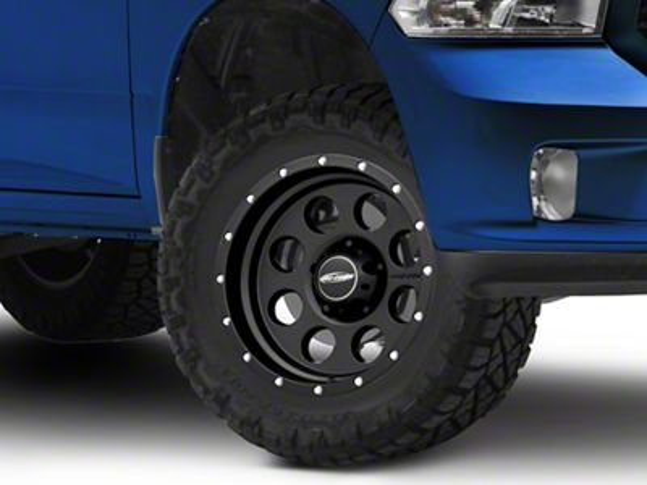 Pro Comp Proxy Satin Black 5-Lug Wheel - 17x9 (02-18 RAM 1500, Excluding Mega Cab)