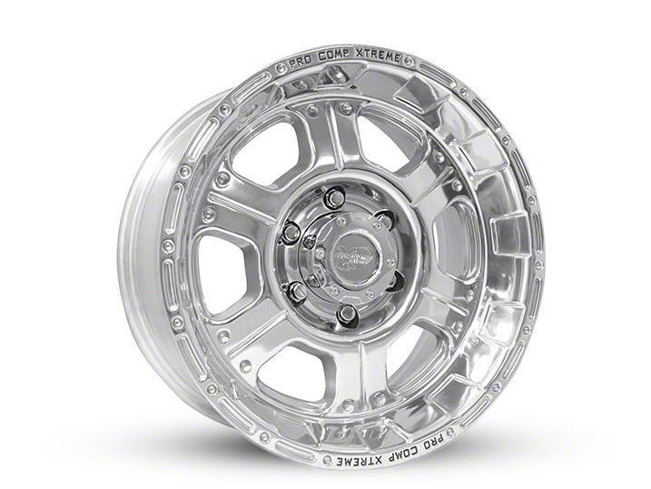 Pro Comp Series 1089 Polished 5-Lug Wheel - 17x8 (02-18 RAM 1500, Excluding Mega Cab)