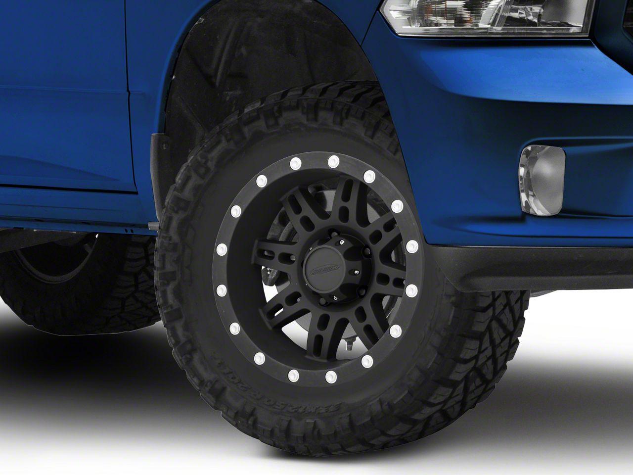 Pro Comp Series 7031 Matte Black 5-Lug Wheel - 17x9 (02-18 RAM 1500, Excluding Mega Cab)