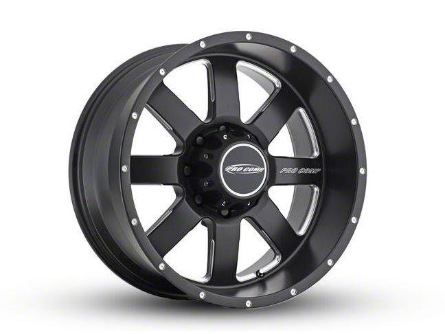 Pro Comp Vapor Satin Black Milled 5-Lug Wheel - 20x9.5 (02-18 RAM 1500, Excluding Mega Cab)