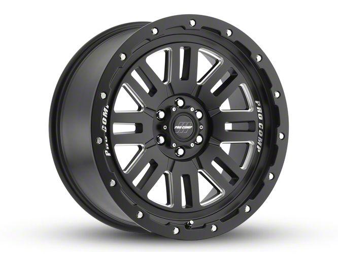 Pro Comp Cognito Satin Black Milled 8-Lug Wheel - 20x9 (06-08 RAM 1500 Mega Cab)