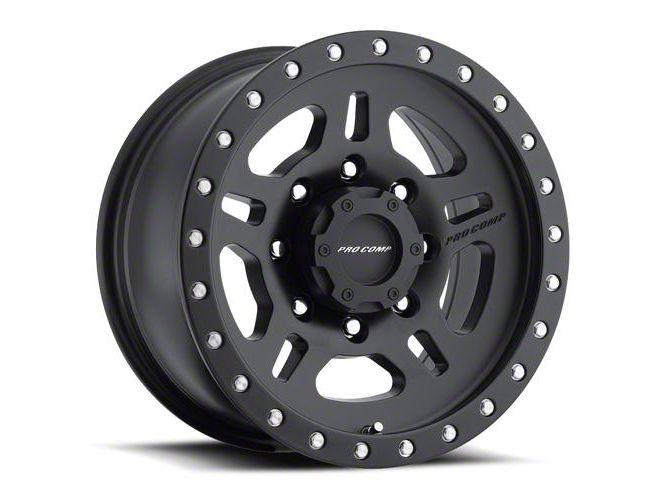 Pro Comp La Paz Satin Black 8-Lug Wheel - 17x8.5 (06-08 RAM 1500 Mega Cab)
