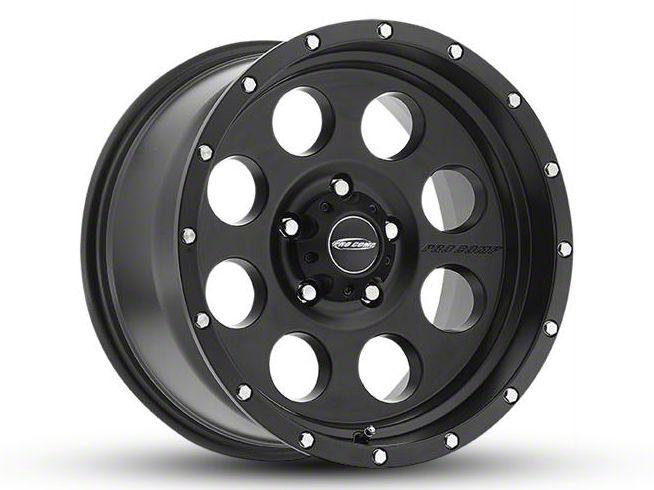 Pro Comp Proxy Satin Black 8-Lug Wheel - 17x9 (06-08 RAM 1500 Mega Cab)