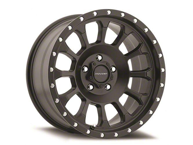 Pro Comp Rockwell Satin Black 8-Lug Wheel - 18x9 (06-08 RAM 1500 Mega Cab)