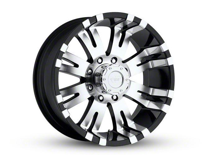 Pro Comp Series 8101 Gloss Black Machined 8-Lug Wheel - 18x9.5 (06-08 RAM 1500 Mega Cab)