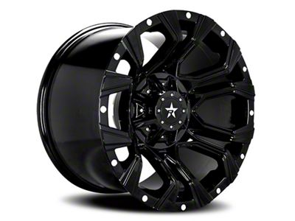 RBP 64R Widow Gloss Black 5-Lug Wheel - 20x12 (02-18 RAM 1500, Excluding Mega Cab)
