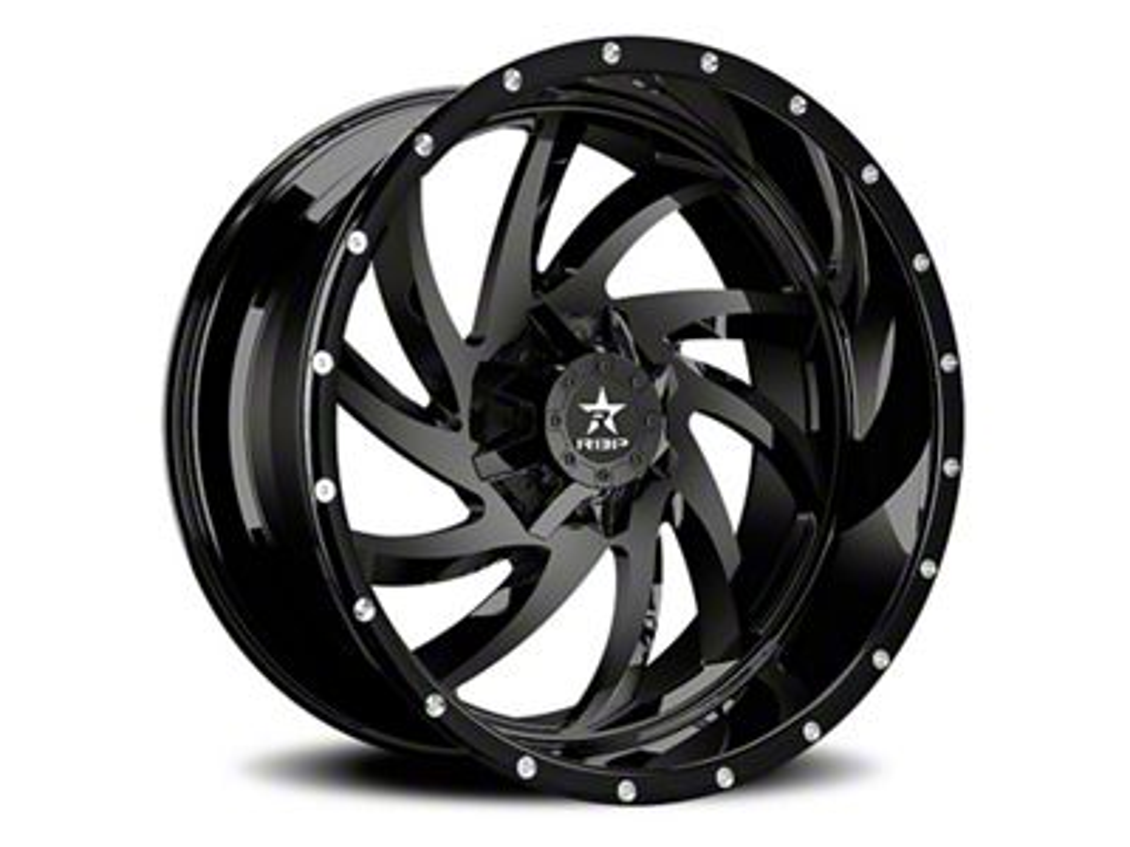 RBP 66R HK-5 Gloss Black 5-Lug Wheel - 20x12 (02-18 RAM 1500, Excluding Mega Cab)