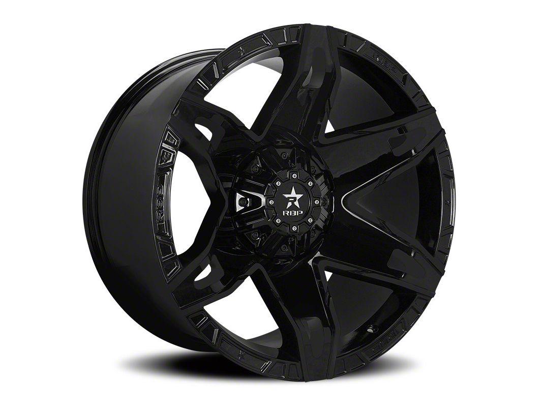 RBP 70R Quantum Gloss Black 5-Lug Wheel - 22x12 (02-18 RAM 1500, Excluding Mega Cab)