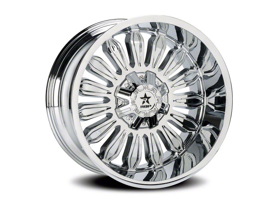 RBP 76R Roulette Chrome 5-Lug Wheel - 20x12 (02-18 RAM 1500, Excluding Mega Cab)