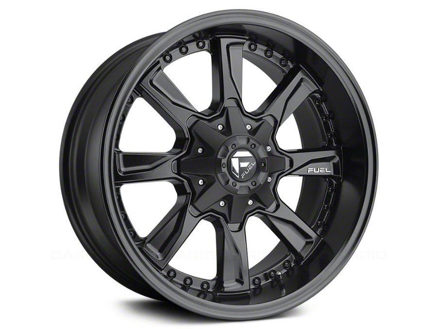 Fuel Wheels Hydro Matte Black Milled 5-Lug Wheel - 18x9 (02-18 RAM 1500, Excluding Mega Cab)