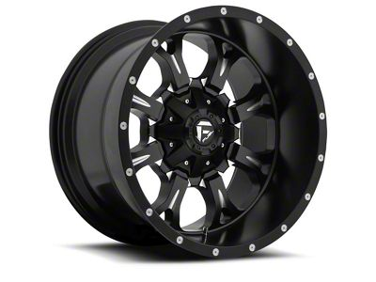 Fuel Wheels Krank Black Milled 5-Lug Wheel - 20x12 (02-18 RAM 1500, Excluding Mega Cab)
