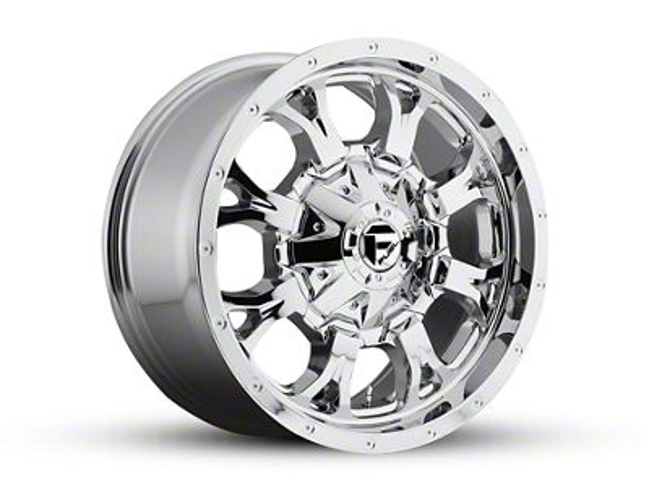 Fuel Wheels Krank Chrome 5-Lug Wheel - 18x9 (02-18 RAM 1500, Excluding Mega Cab)