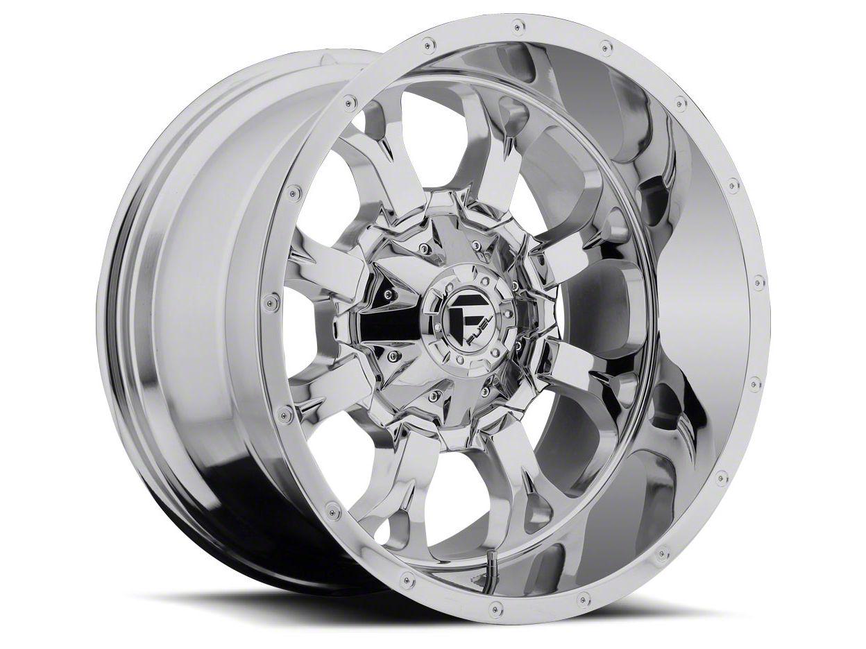 Fuel Wheels Krank Chrome 5-Lug Wheel - 20x12 (02-18 RAM 1500, Excluding Mega Cab)