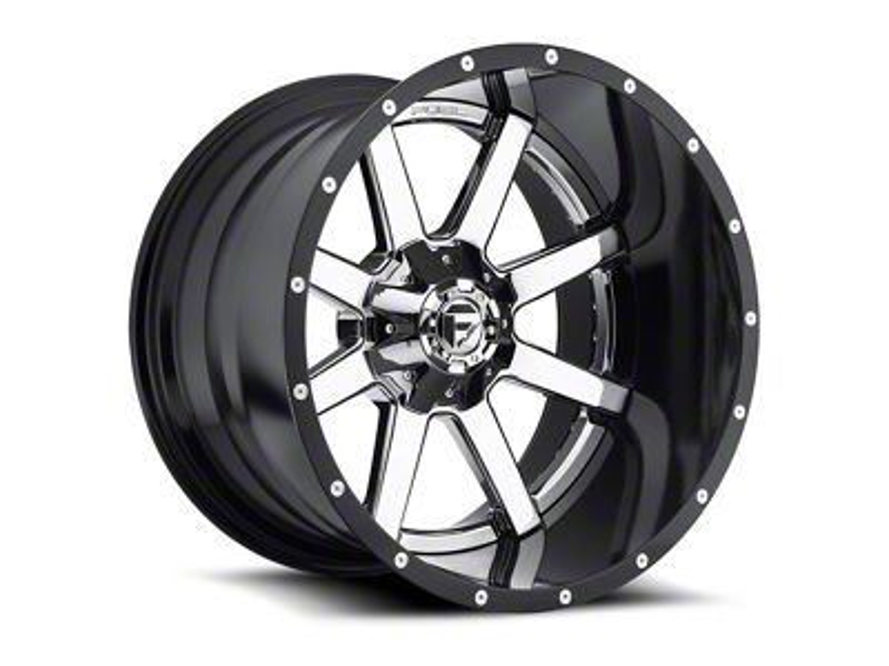 Fuel Wheels Maverick 2-Piece Chrome 5-Lug Wheel - 20x12 (02-18 RAM 1500, Excluding Mega Cab)