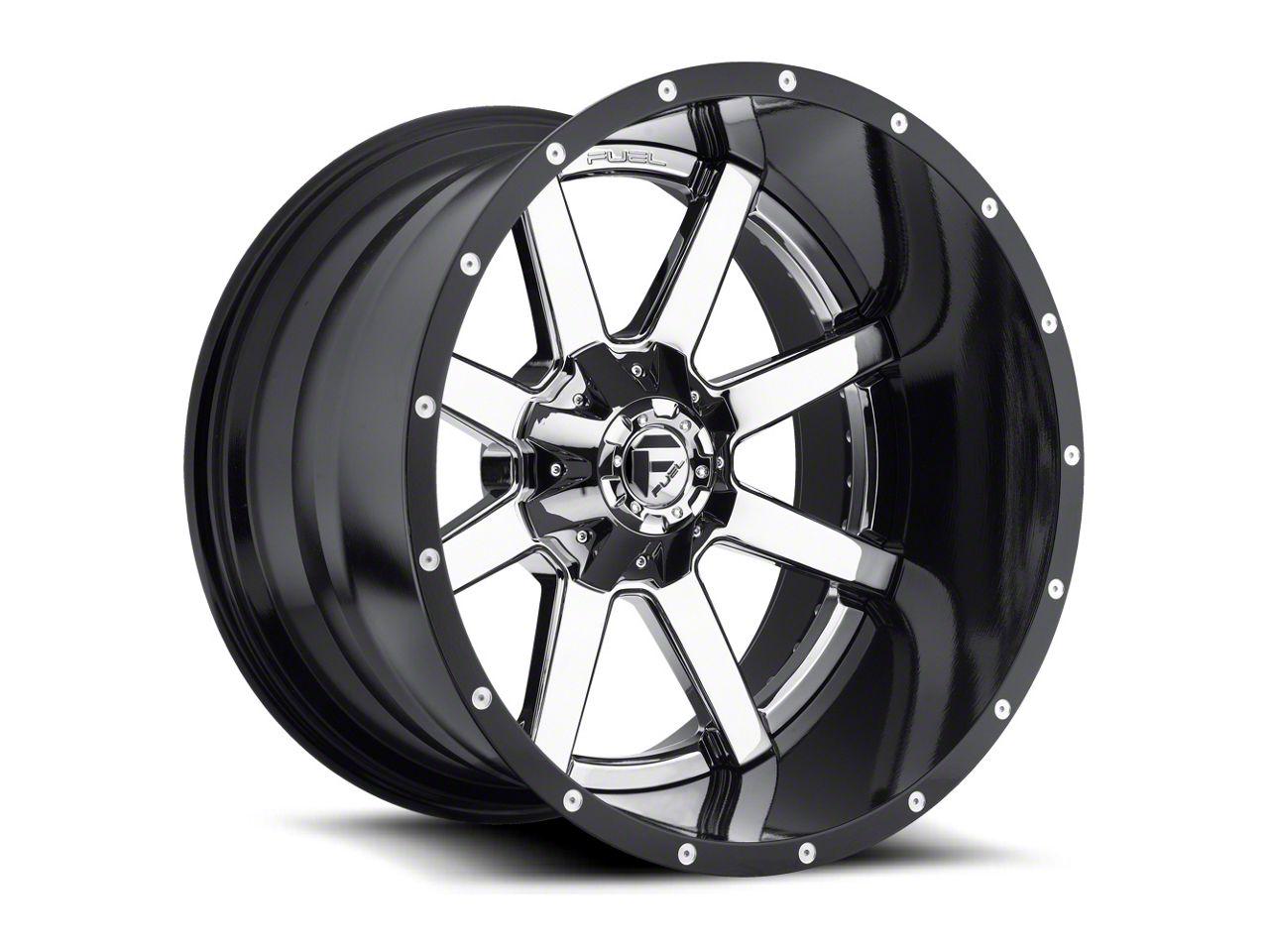 Fuel Wheels Maverick Chrome 5-Lug Wheel - 24x12 (02-18 RAM 1500, Excluding Mega Cab)