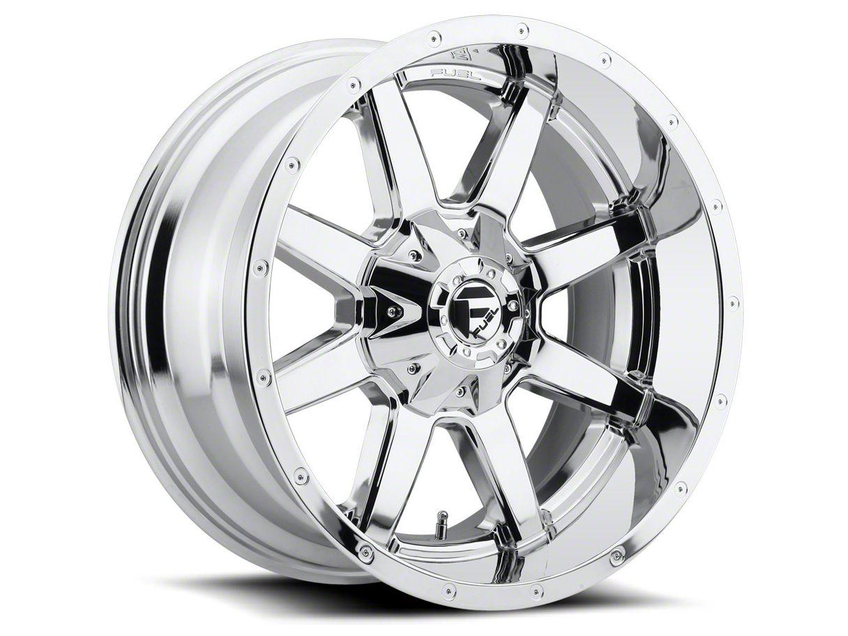 Fuel Wheels Maverick Chrome 5-Lug Wheel - 18x9 (02-18 RAM 1500, Excluding Mega Cab)