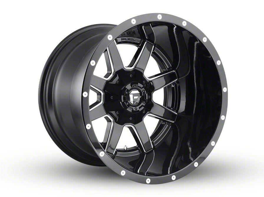 Fuel Wheels Maverick Gloss Black Milled 5-Lug Wheel - 20x12 (02-18 RAM 1500, Excluding Mega Cab)