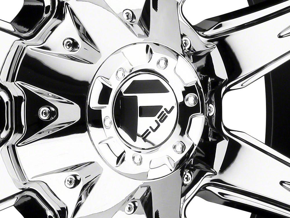 Fuel Wheels NUTZ Chrome 5-Lug Wheel - 17x9 (02-18 RAM 1500, Excluding Mega Cab)