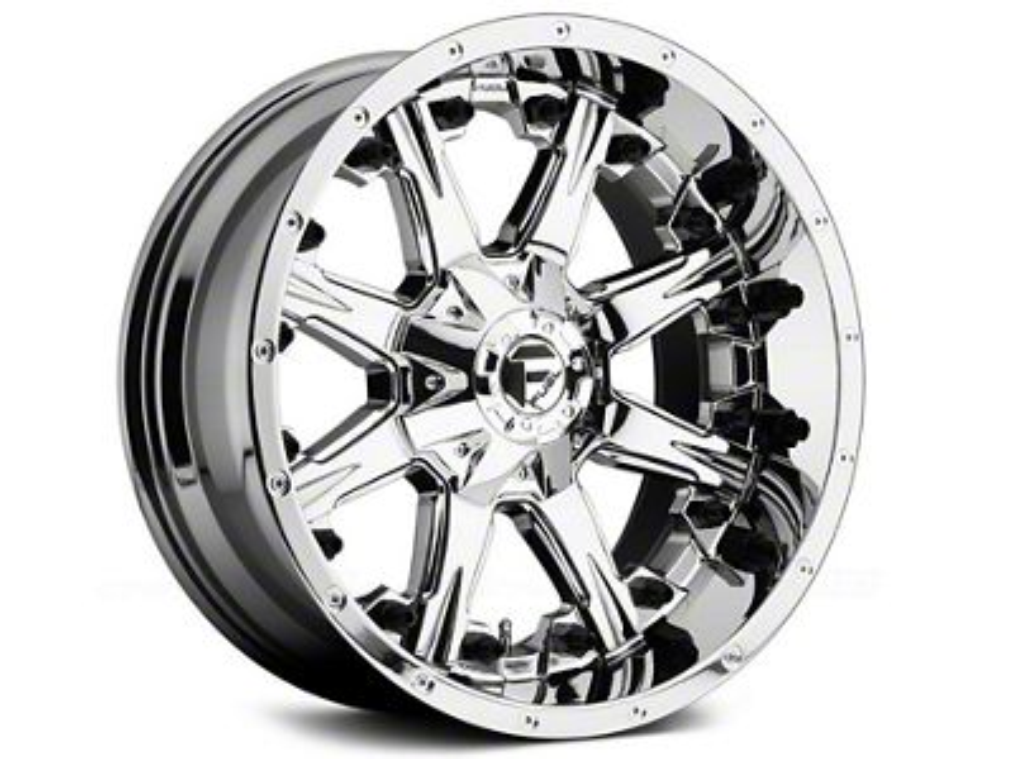Fuel Wheels NUTZ Chrome 5-Lug Wheel - 18x9 (02-18 RAM 1500, Excluding Mega Cab)